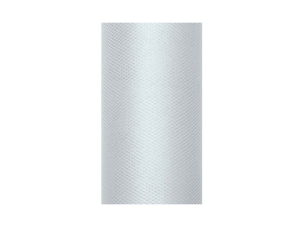 Decorative Tulle 15 cm x 9 m 091 Grey
