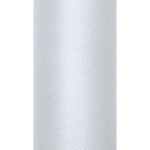 Tiul dekoracyjny 30 cm x 9 m 091J j. szary