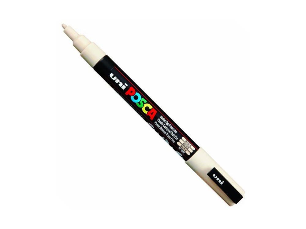 Uni Posca Paint Marker Pen PC-3M - Beige