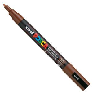 Marker UNI POSCA PC-3M - Brown