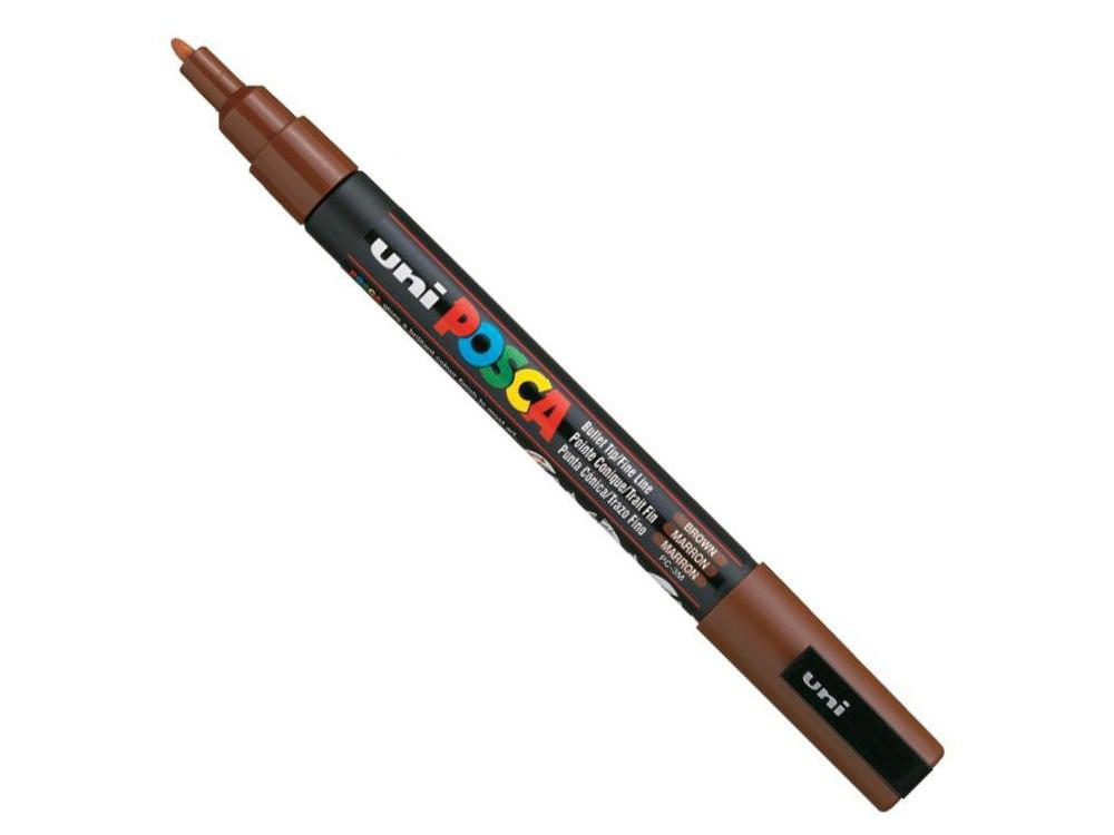 Uni Posca Paint Marker Pen PC-3M - Brown