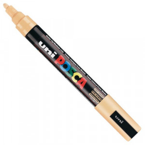 Marker UNI POSCA PC-5M - Light Orange