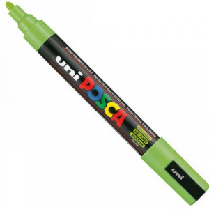 Marker UNI POSCA PC-5M - Apple Green