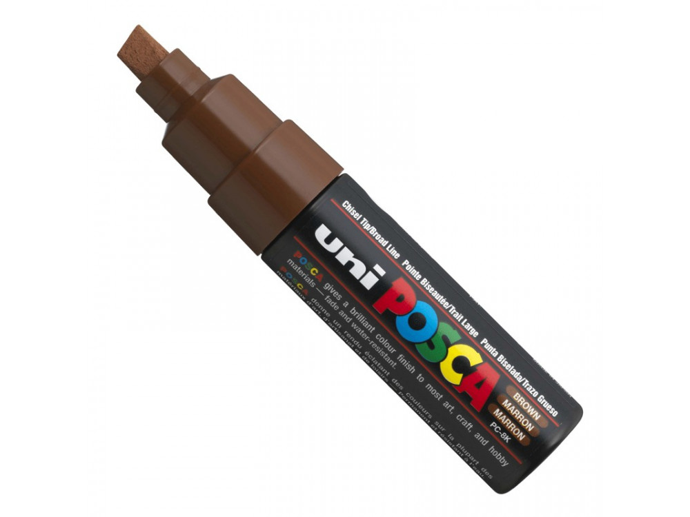 Paint Posca Marker PC-8K - Uni - brown