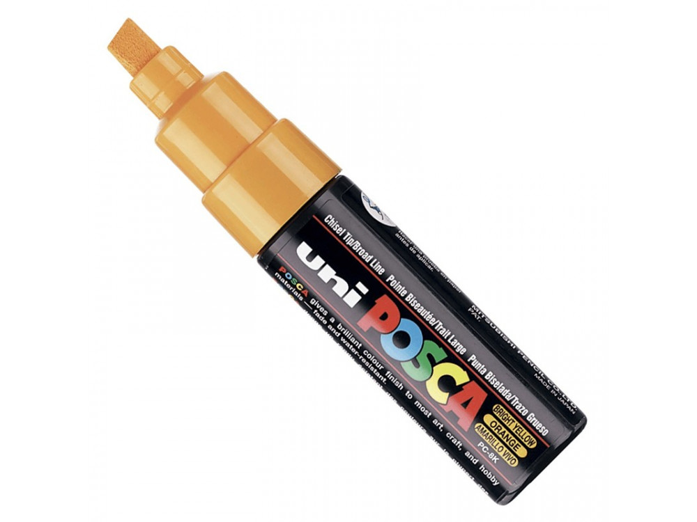 Marker Posca PC-8K - Uni - bright yellow