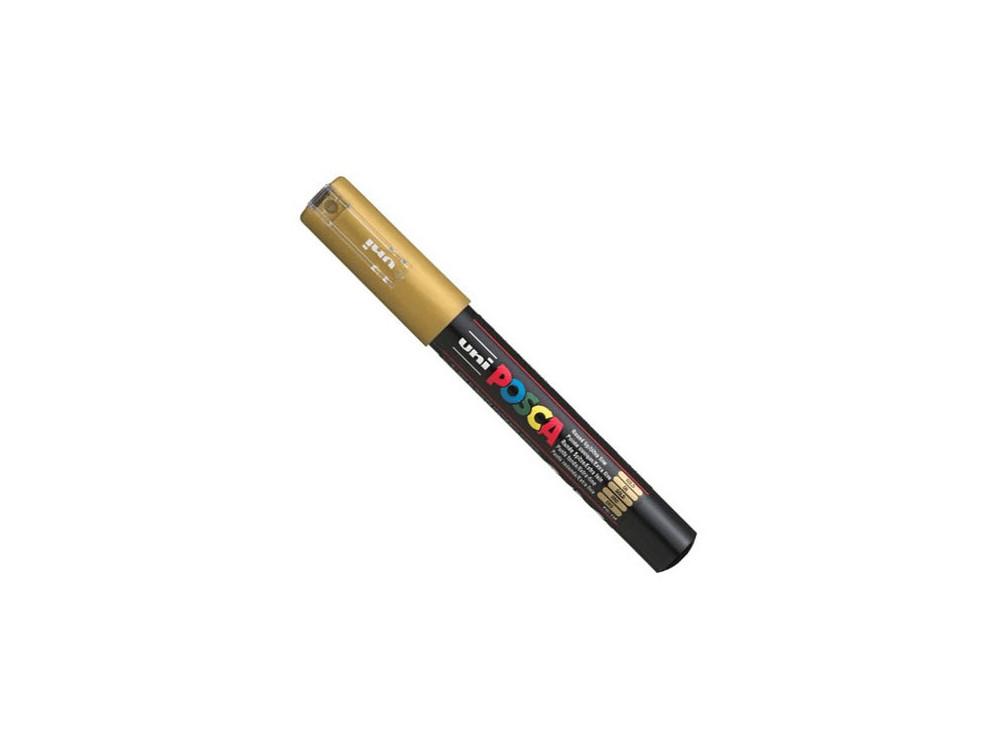 Uni Posca Paint Marker Pen PC-1M - Gold