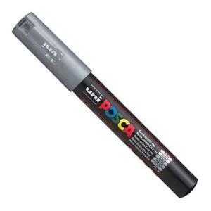 Marker UNI POSCA PC-1M - Silver
