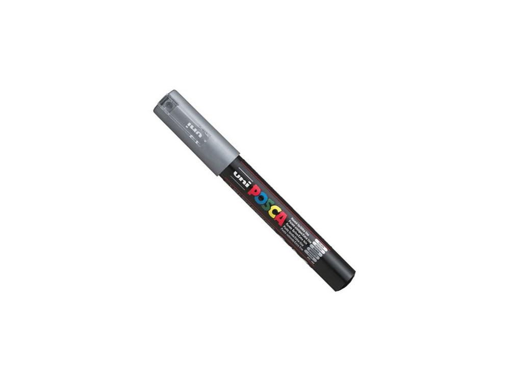 Uni Posca Paint Marker Pen PC-1M - Silver