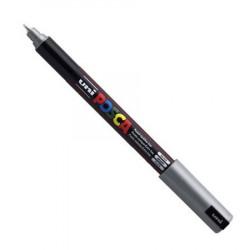Marker Posca PC-1MR - Uni - silver