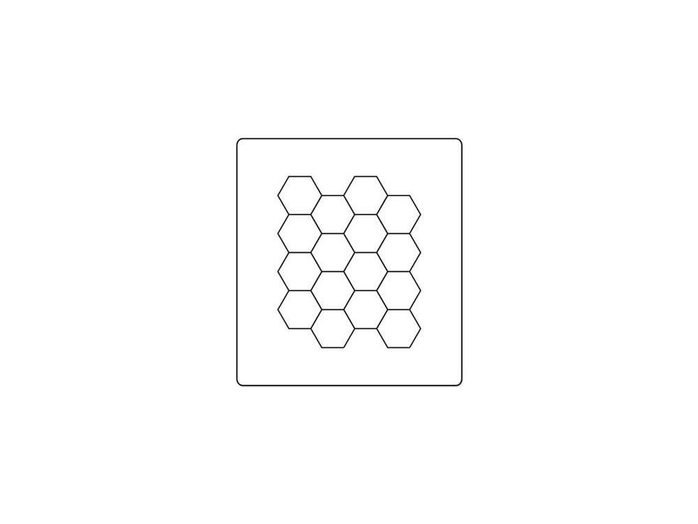 Wykrojnik Bigz - Sizzix - Hexagons