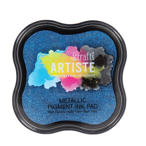 TUSZ PIGMENTOWY - ARTISTE – METALLIC JEAN BLUE