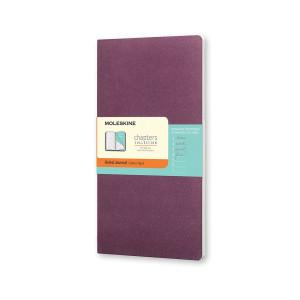 Notes Moleskine Chapters Slim L Ruled Plum Purple