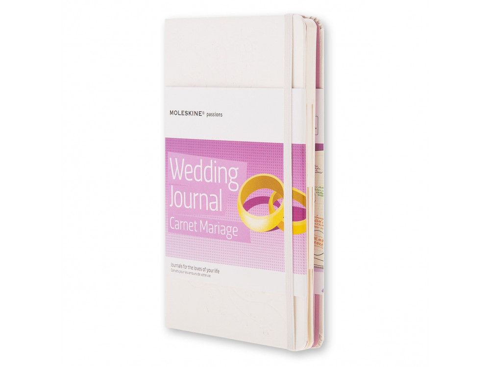 Notatnik A5 - Moleskine - Passion Journal Wedding