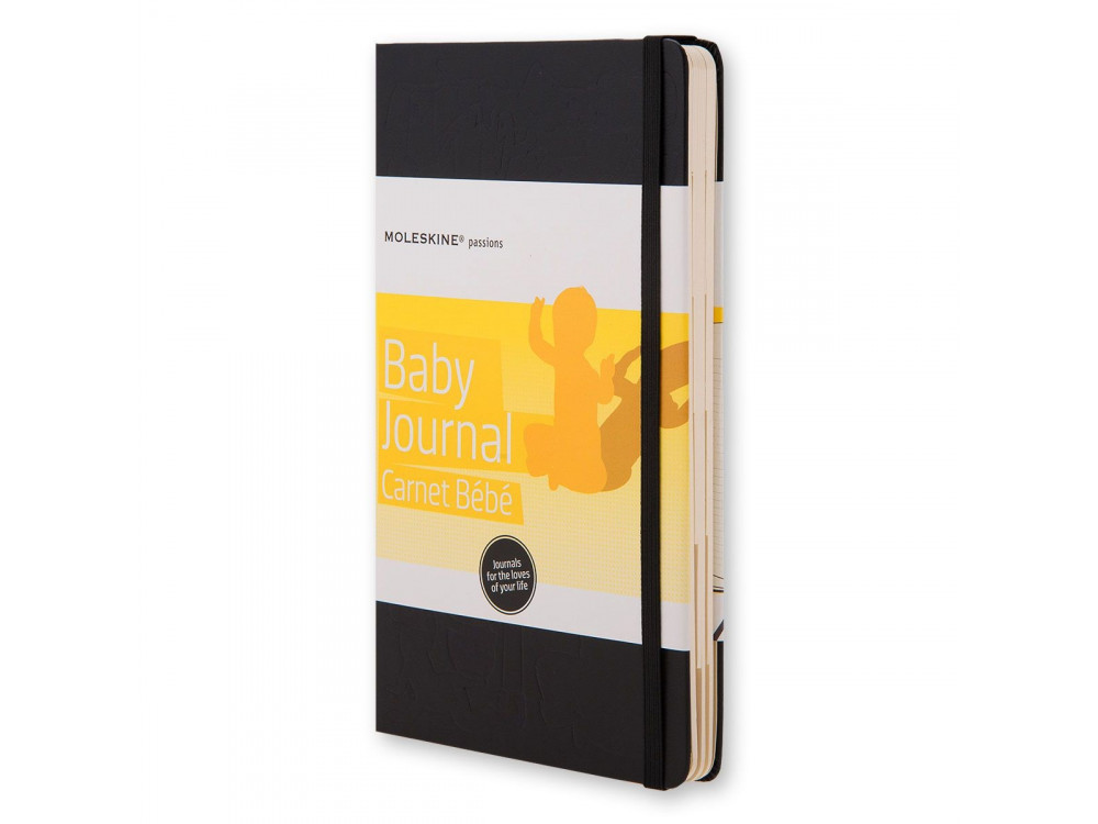 Notatnik A5 - Moleskine - Passion Journal Baby, czarny