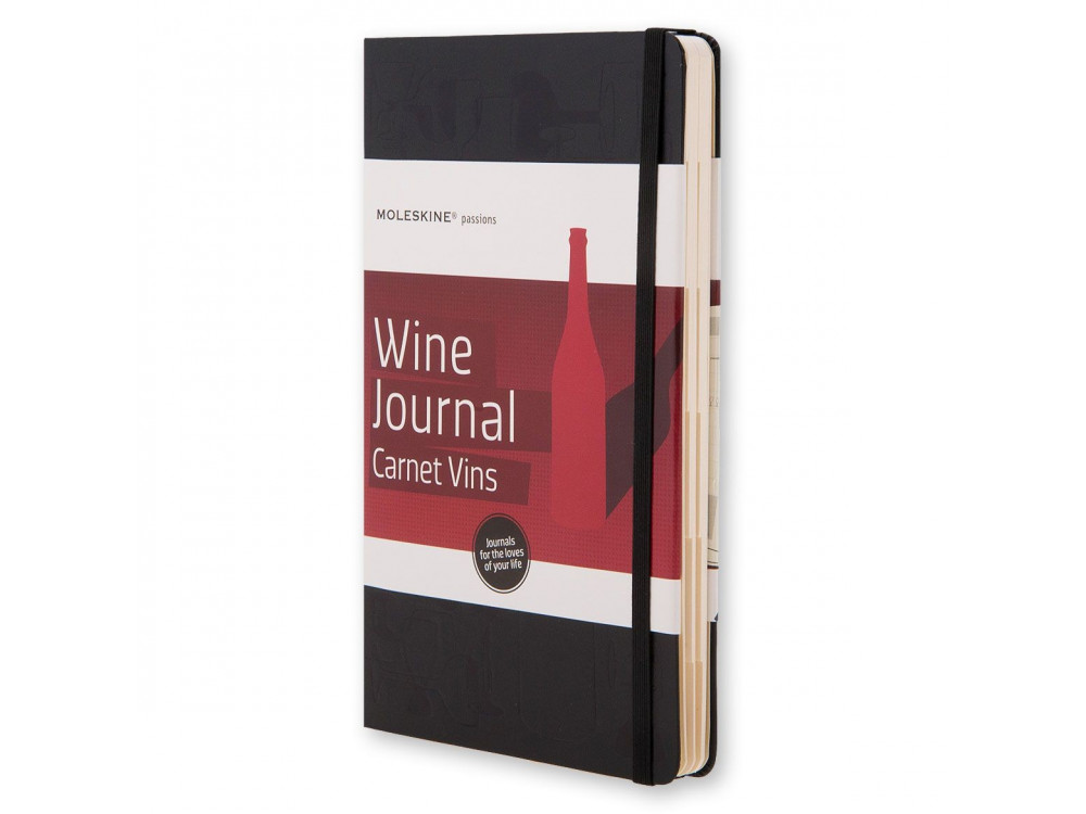 Notatnik A5 - Moleskine - Passion Journal Wine