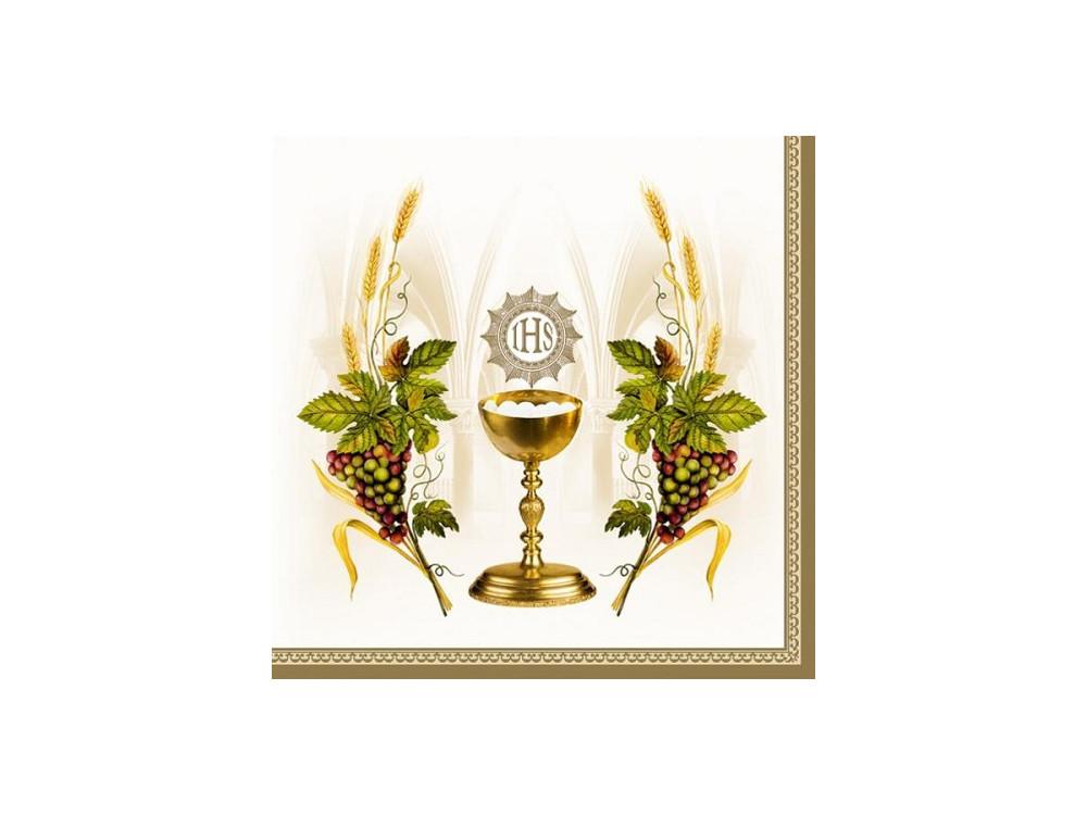 First Holy Communion napkins 20 pcs SLKO000401