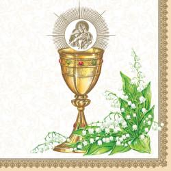 First Holy Communion napkins 20 pcs SLKO000901