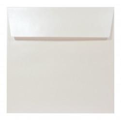 Sirio Pearl Envelope 125g - 17 x 17 cm, Oyster Shell, cream