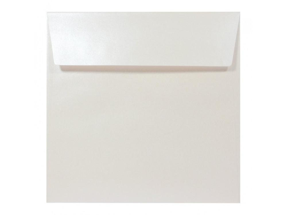 Koperta perłowa Sirio Pearl 125g - 17 x 17 cm, Oyster Shell, kremowa