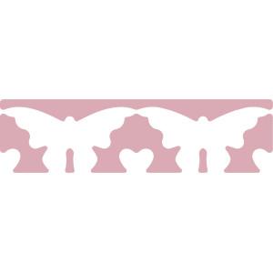 Dziurkacz brzegowy 4,5 cm 053 - Motyle