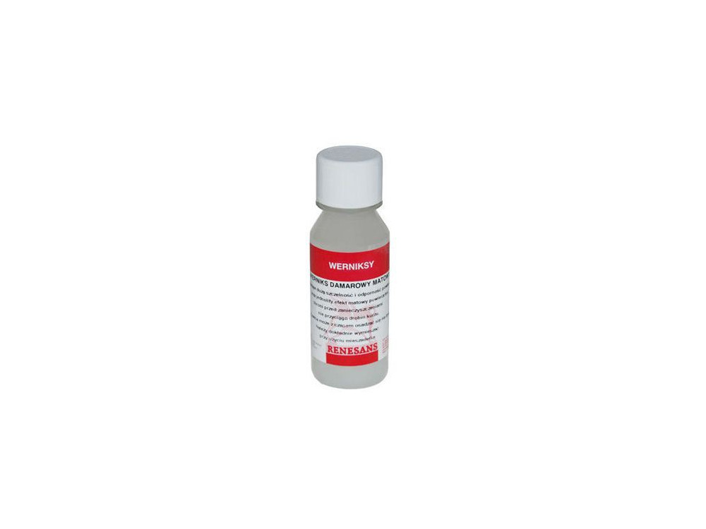 Protective Matt varnish for oil/watercolor - Renesans - 100 ml