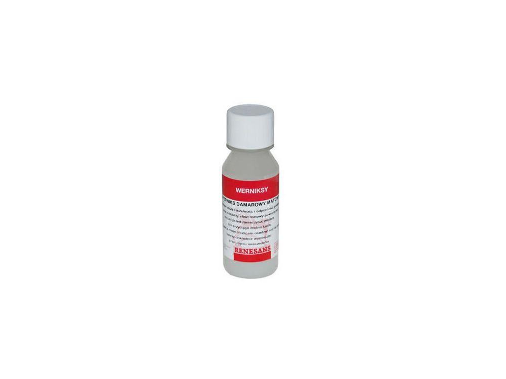 Werniks damarowy matowy - Renesans - 100 ml