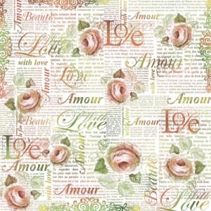 Serwetka ryżowa STAMPERIA Love Amour