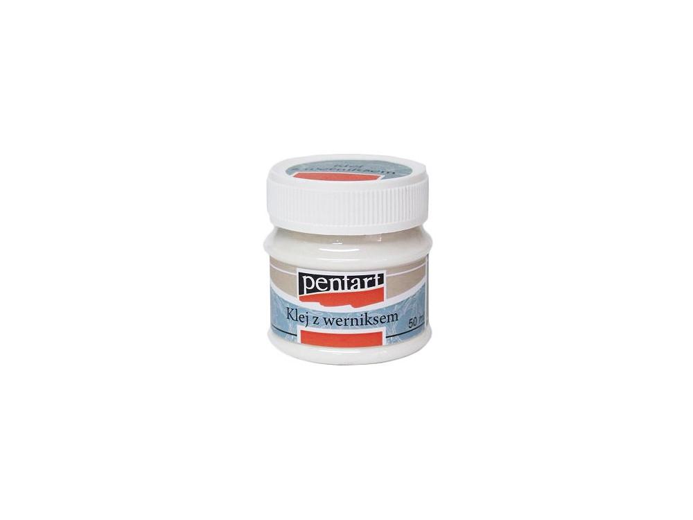 Klej z lakierem do decoupage - Pentart - 50ml