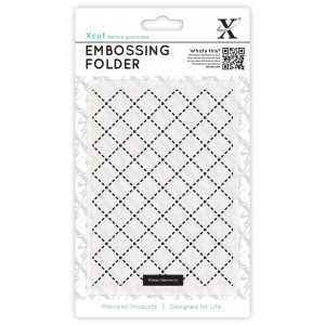 FOLDER DO EMBOSSINGU A6 - QUILTING