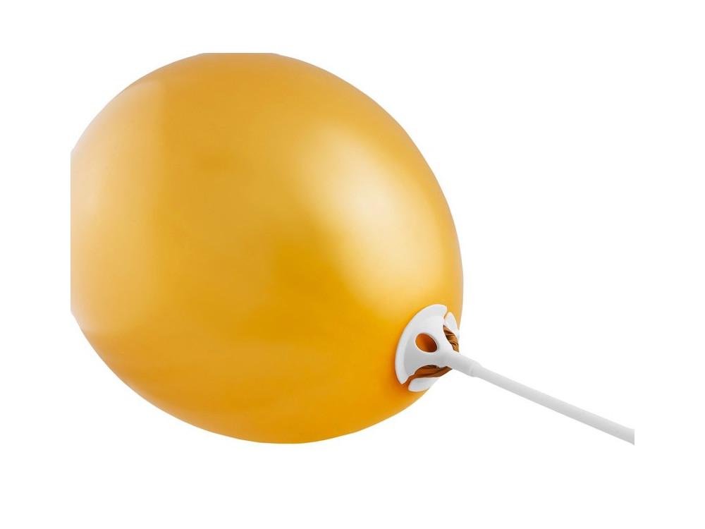 Patyczki z zatyczkami do balonów - 100 szt.