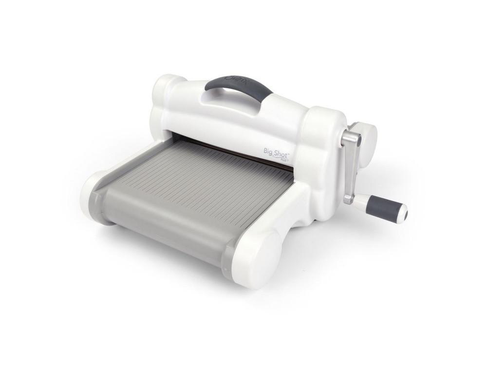 Maszyna tnąco - wytłaczająca Sizzix Big Shot Plus (White & Grey)