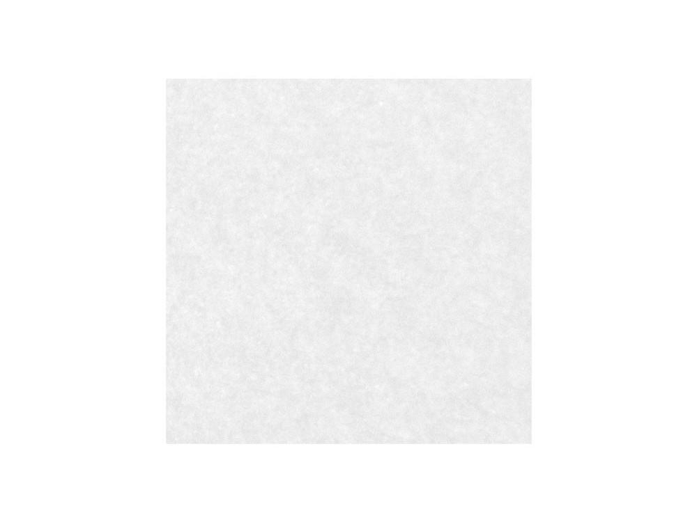 Decorative felt - white, 30 x 40 cm