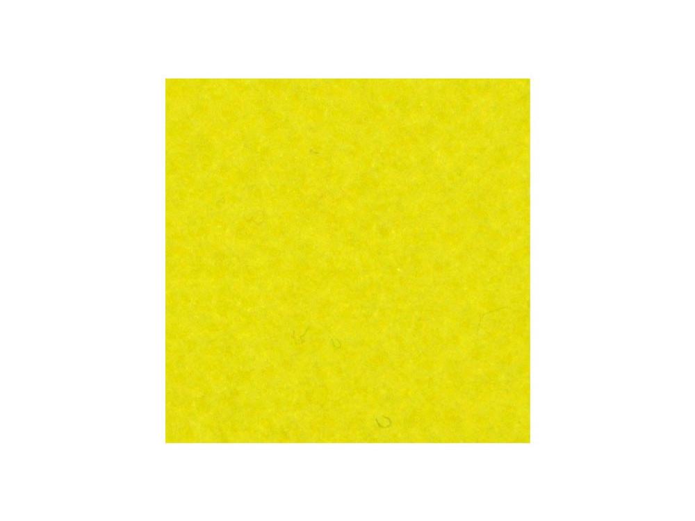 Filc ozdobny, dekoracyjny - żółty cytrynowy, 30 x 40 cm