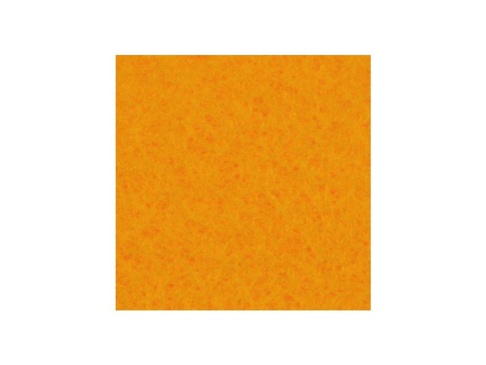 Filc ozdobny, dekoracyjny - jasnopomarańczowy, 30 x 40 cm
