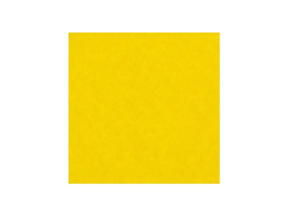 Decorative felt - yellow, 30 x 40 cm