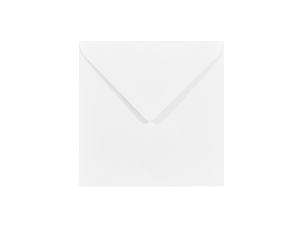 Koperta Olin 120g - 14 x 14 cm, biała