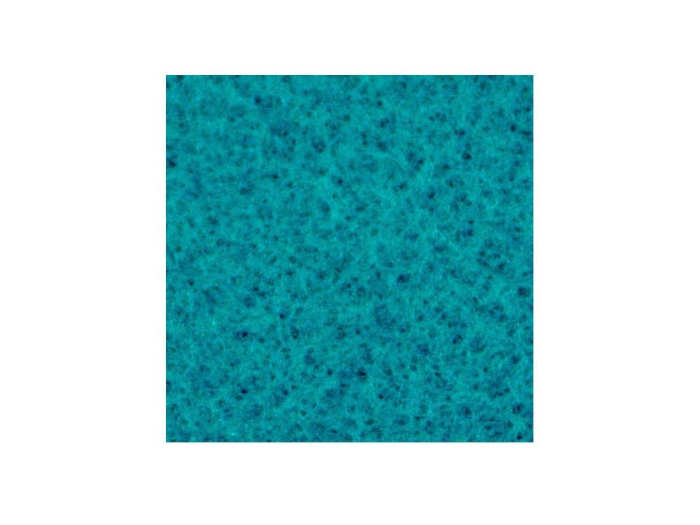Decorative felt - turquoise, 30 x 40 cm