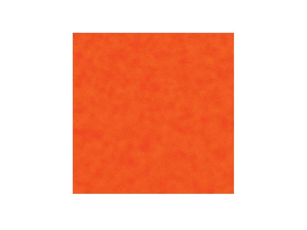 Decorative felt - orange, 30 x 40 cm