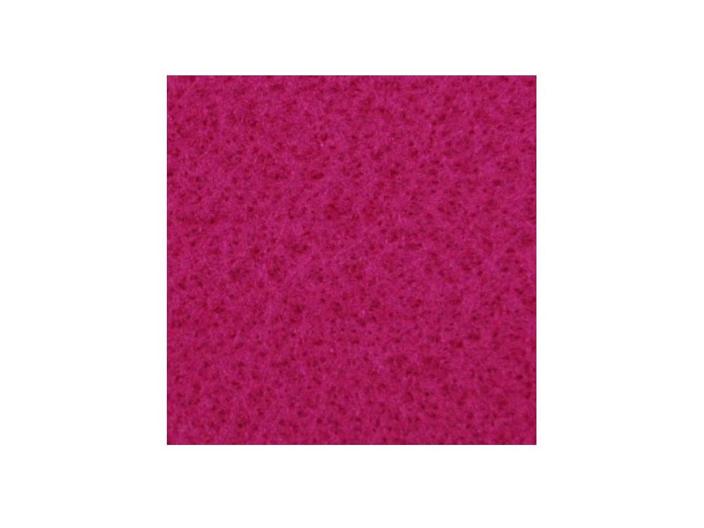 Filc ozdobny, dekoracyjny - fuksja, 30 x 40 cm