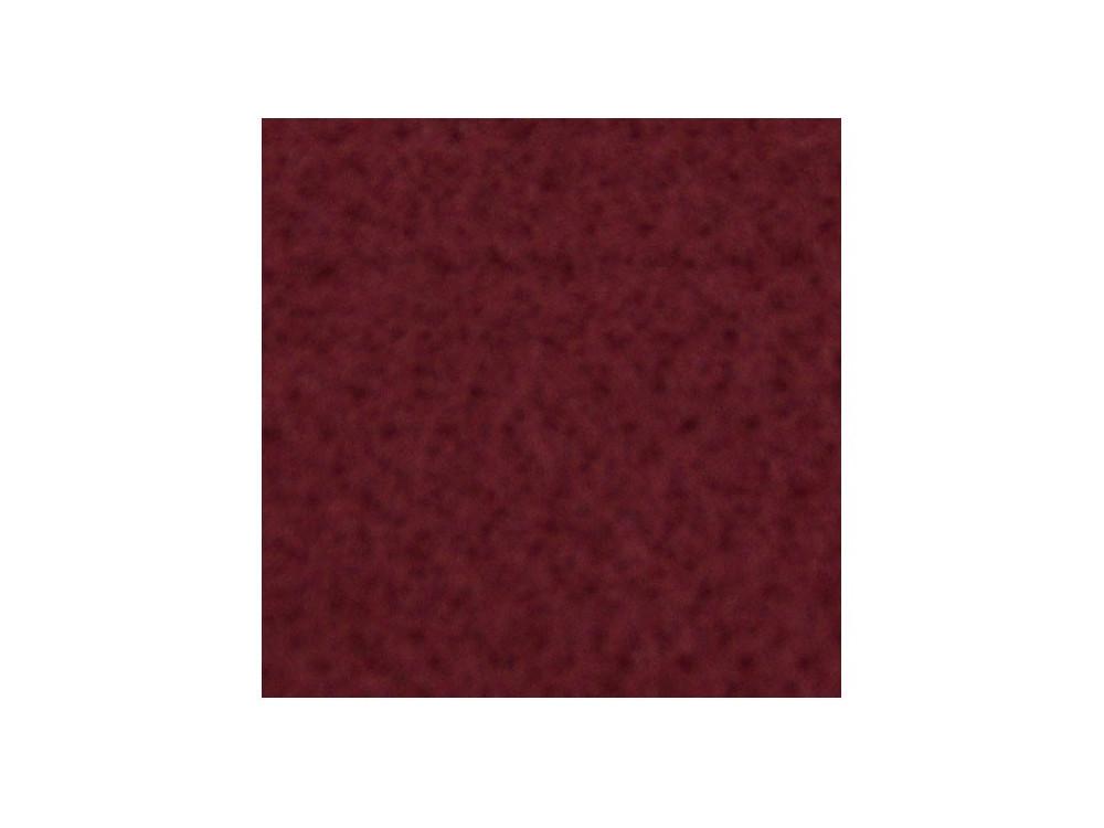 Filc ozdobny, dekoracyjny - buraczkowy bordowy, 30 x 40 cm