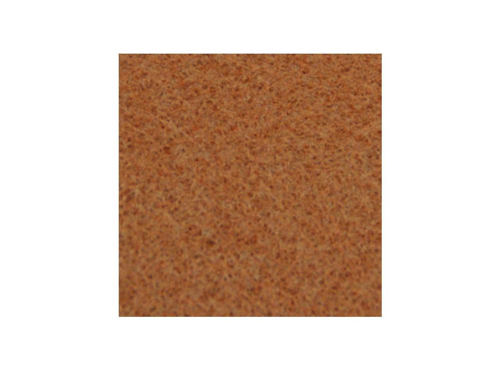 Decorative felt - light brown, 30 x 40 cm