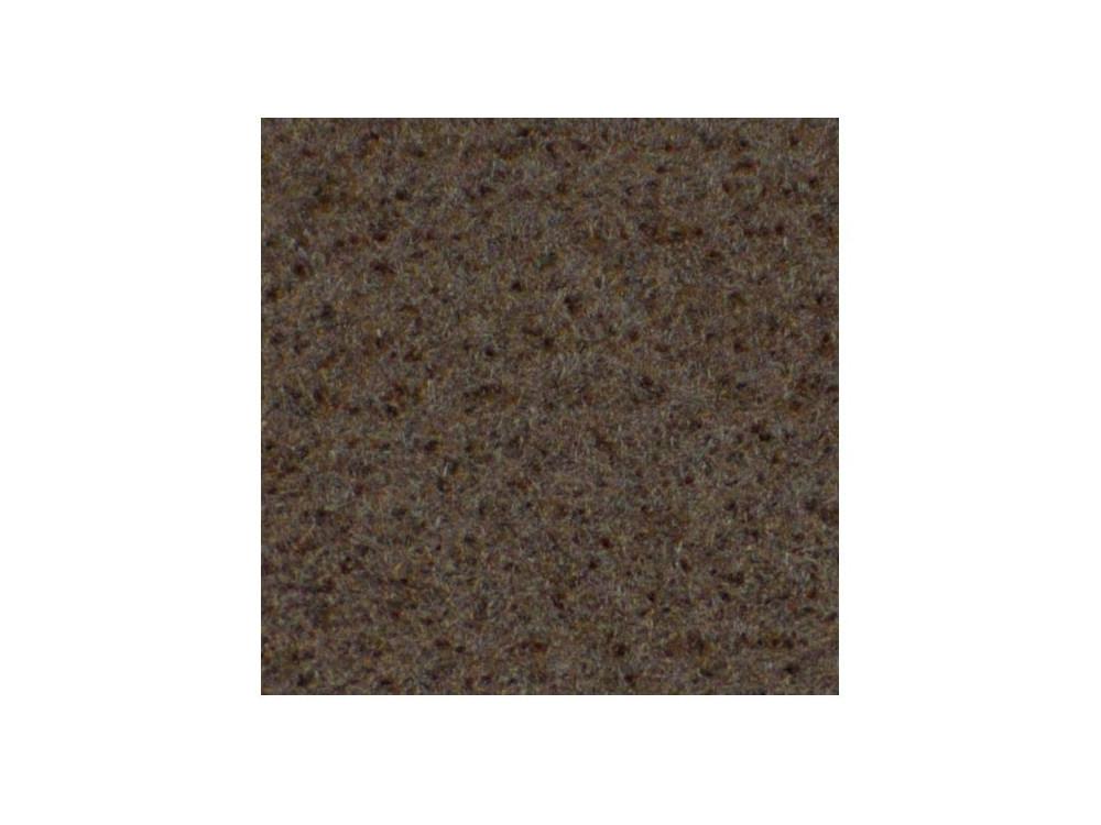 Filc ozdobny, dekoracyjny - brązowy, 30 x 40 cm