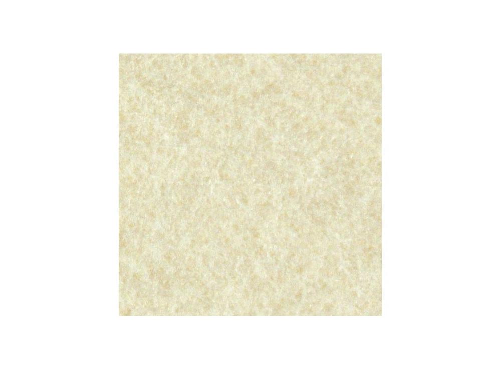 Decorative felt - creamy, 30 x 40 cm