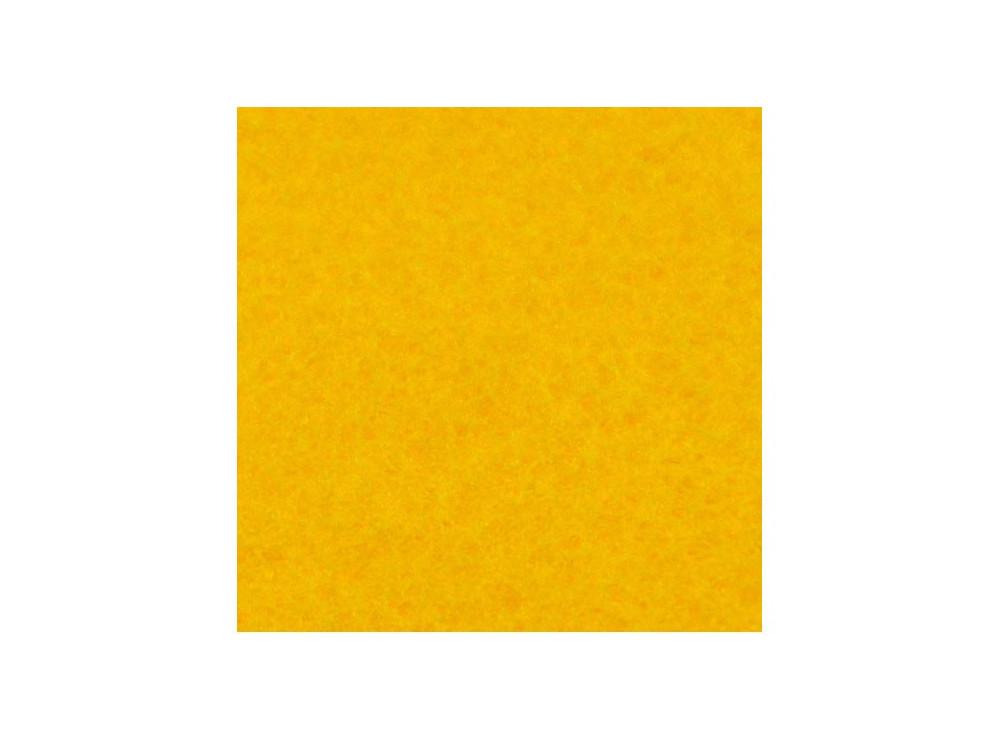 Decorative felt - sunny yellow, 30 x 40 cm