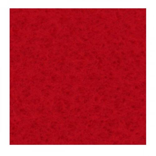 Filc ozdobny 30x40 cm A44 czerwony