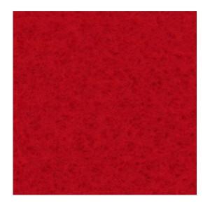 Filc ozdobny 30 x 40 cm A44 czerwony