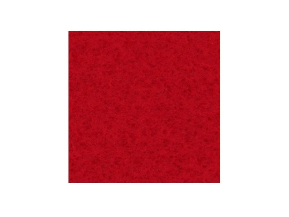 Filc ozdobny, dekoracyjny - czerwony, 30 x 40 cm