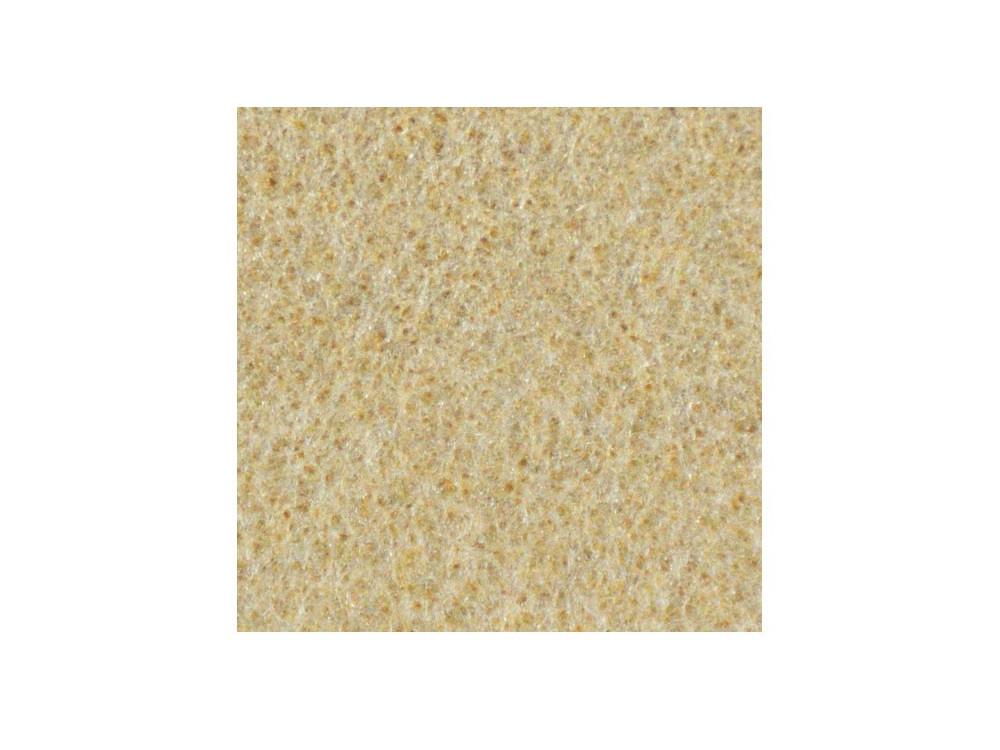 Filc ozdobny, dekoracyjny - piaskowy, 30 x 40 cm
