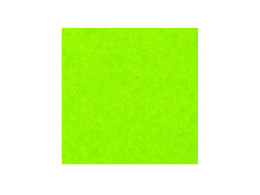 Filc ozdobny, dekoracyjny - zielony neonowy, 30 x 40 cm