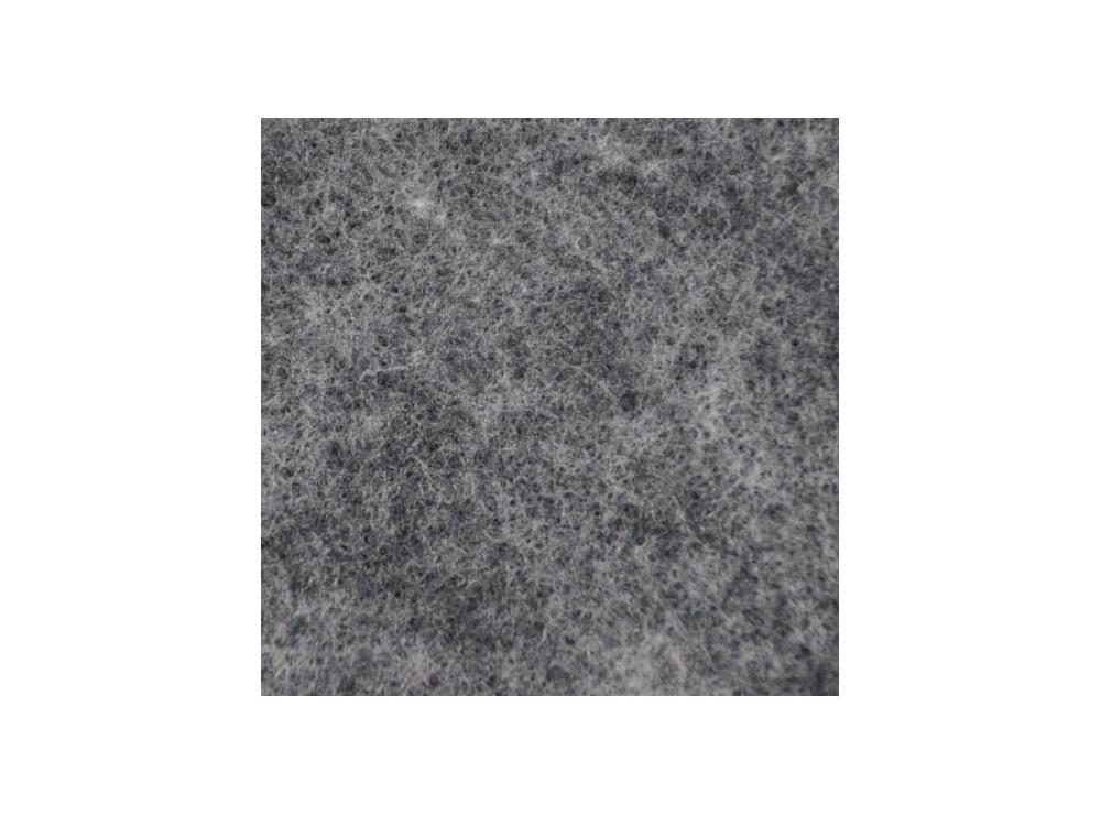 Filc ozdobny, dekoracyjny - melanżowy, stalowy, 30 x 40 cm
